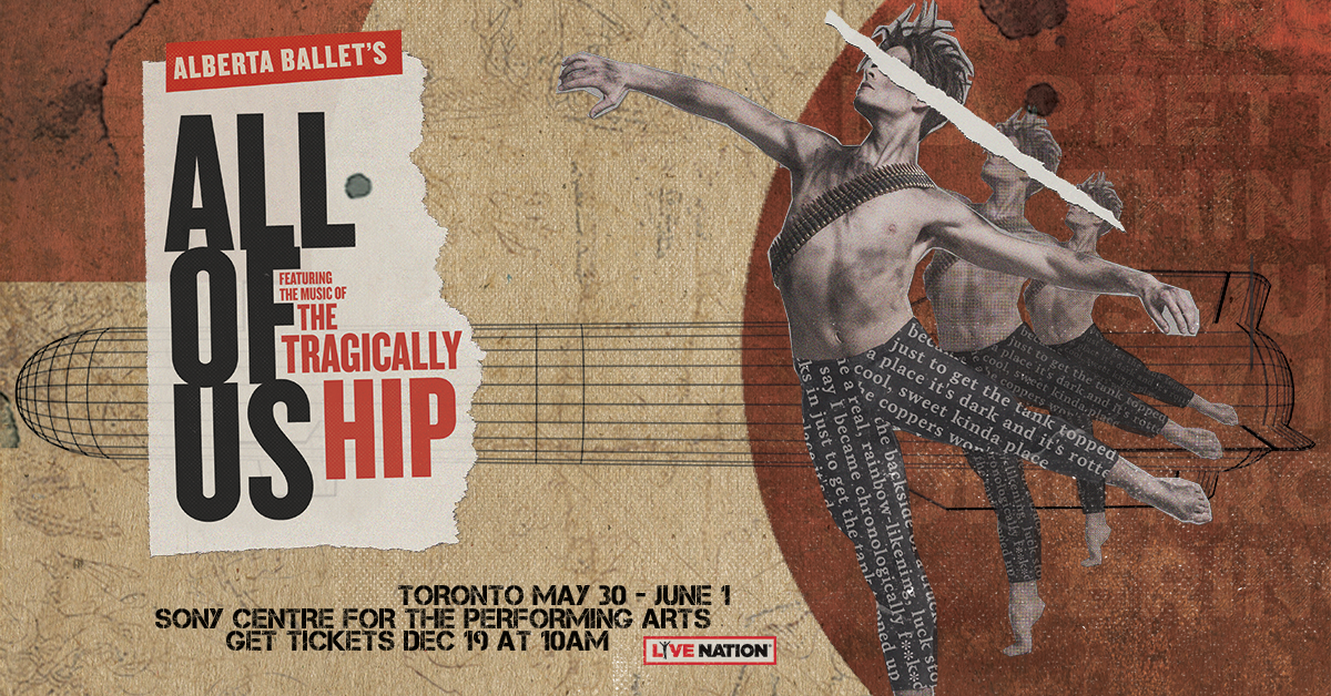 Win Tickets to Alberta Ballet's - All of Us | boom 97 3 - 70s 80s 90s